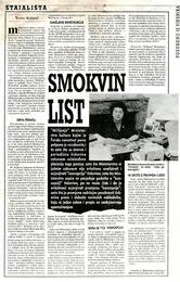 List online smokvin List smokve