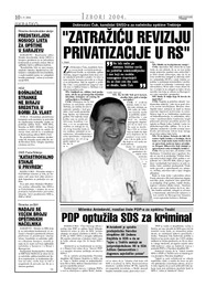 ZATRAŽIĆU REVIZIJU PRIVATIZACIJE U RS